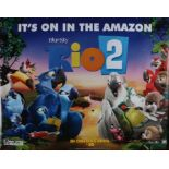 "Rio 2 (2014) - British Quad film poster, rolled, 30"" x 40"""
