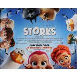 "Storks (2016) - British Quad film poster, rolled, 30"" x 40"""