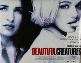 Beautiful Creatures (2013) - British Quad film posters, starring Alice Englert and Viola Davis,