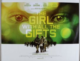 The Girl With All The Gifts (2016) - British Quad film poster, directed by Colm McCarthy, rolled,