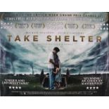 Take Shelter (2011) - British Quad film poster, starring Michael Shannon and Jessica Chastain,