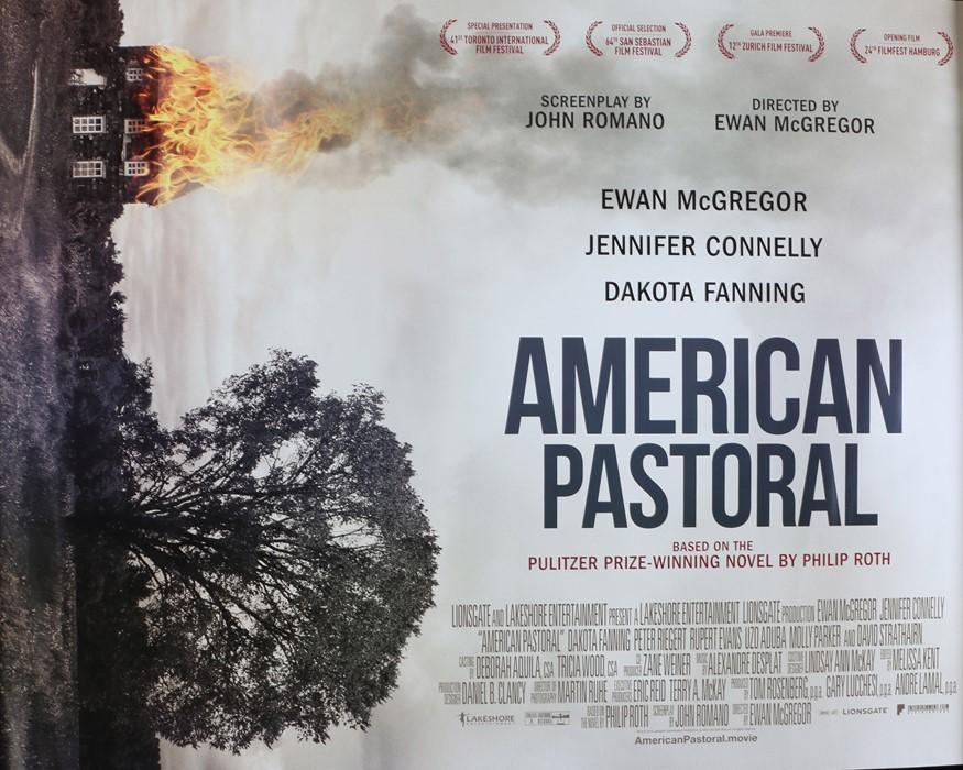 American Pastoral (2016) - British Quad film poster, starring Ewan McGregor, Jennifer Connelly,
