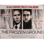 The Frozen Ground (2013) - British Quad film poster, starring Nicolas Cage, John Cusack and 50 Cent,