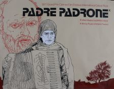 Padre Padrone (1977) - British Quad film poster, directed by Paolo and Vittorio Taviani, a poster
