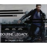 The Bourne Legacy (2012) - British Quad film poster, starring Jeremy Renner, Rachel Weisz and Edward