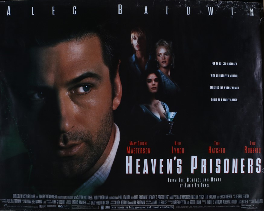 Heaven's Prisoners (1996) - British Quad film poster, starring Alec Baldwin, Kelly Lynch and Mary