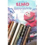 Collection of nine British one-sheet film posters, consisting of Panic Room, Elmo in Grouchland,