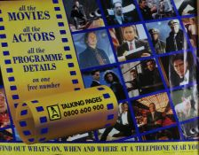 "Talking Pages, a 1995 cinema advertising poster, British Quad, 30"" x 40"""