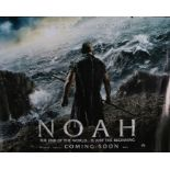 Noah (2014) - British Quad film poster, starring Russell Crowe, Jennifer Connelly and Anthony
