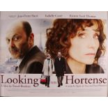 """Looking For Hortense (2012) - British Quad film poster, directed by Pascal Bonitzer, rolled, 30"""" x"""