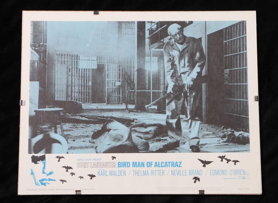 Birdman of Alcatraz (1962) - American lobby card, starring Burt Lancaster, Karl Malden, and Thelma
