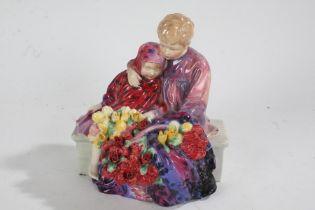 Royal Doulton figure group 'Flower Sellers Children', HN1342, 20cm high