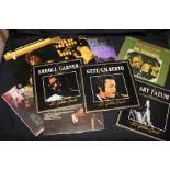 17 x Jazz LPs. Artists to include Chris Barber, Nat King Cole, Art Tatum, Sarah Vaughn, Various