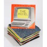 """1980's Pop / Rock 7"""" singles.to include Freeez - IOU (BEG96). Kraftwerk - the Model (EMI 5207)."""