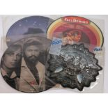 3 x Picture Disc LPs and 1 x Picture Disc single. Bee Gees - Spirits Having Flown ( RS13042). Fats