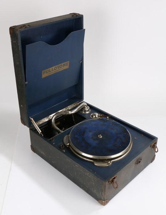Fullotone portable Gramophone.