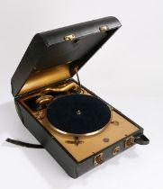 Decca 20 portable Gramophone.