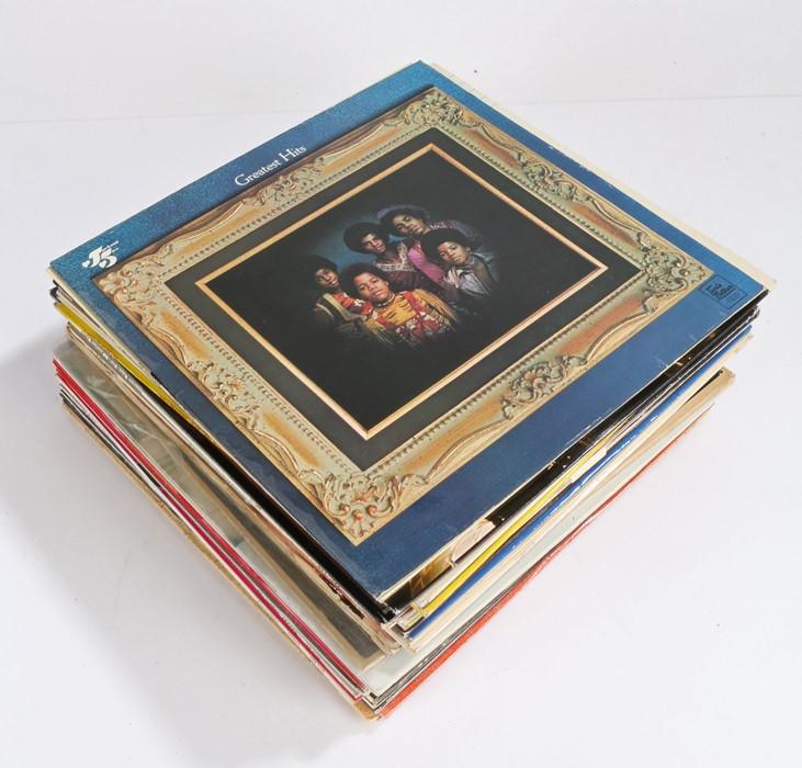 Mixed Pop / Rock / Soul LPs. Artist To Include, Bee Gees (2) Ink Spots, Elvis Presley (4), Diana