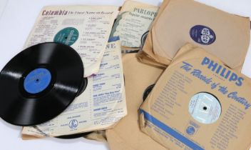 Jazz / Skiffle / Rock & Roll 78s to include, Lonnie Donegan (3) - Lost John. My Dixie Darling.