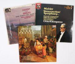3 x Classical LPs. Klemperer - Mahler : Symphony No.2 'Resurrection' ( SLS 806 ), 2-LP set. Andre