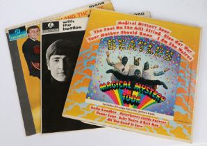 3 x Rock & Roll LPs. The Beatles (2) - Magical Mystery Tour (SMAL 2835), US pressing gatefold sleeve