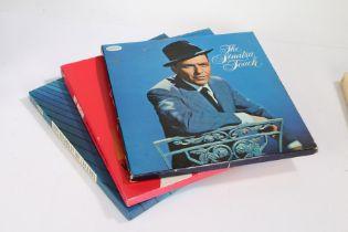 3 x Compilation LP box sets. Frank Sinatra - The Sinatra Touch ( SM 137/142), 6-LP set. Various -