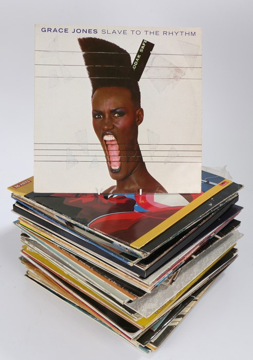 Quantity of mixed LPs. Big Country - Steeltown. James Brown - Greatest Hits. Helen Gurley Brown -