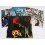 3 x 10CC LPs & 1 x ELO LP. 10CC - Live And Let Live, Bloody Tourists, Greatest Hits 1972 - 1978. ELO