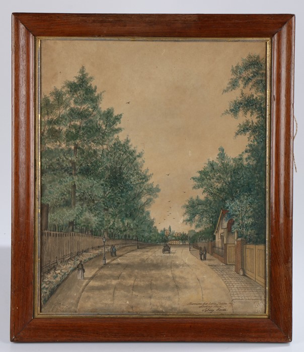 A set of three late 19th Century primitive watercolours, by Sydney Barton, the first with the wine - Image 3 of 4