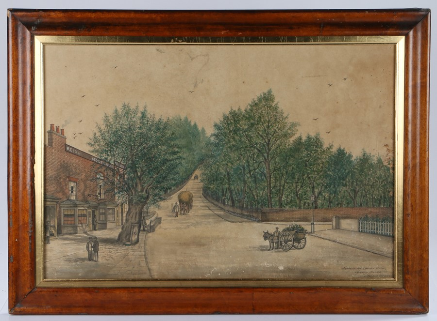 A set of three late 19th Century primitive watercolours, by Sydney Barton, the first with the wine - Image 2 of 4