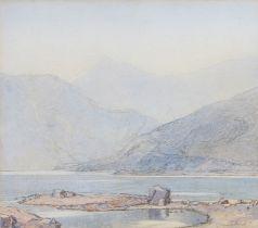 Samuel John Lamorna Birch, RA, RWS (Newlyn School 1869-1955) Lake District, pencil signed