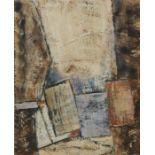 Robert Sadler (1909-2001) Untitled IV, acrylic on board, 16cm x 20cm