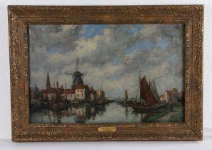 Jacob Henricus Maris (1837-1899) Zierikzee Holland, signed oil on canvas, 63cm x 40cm