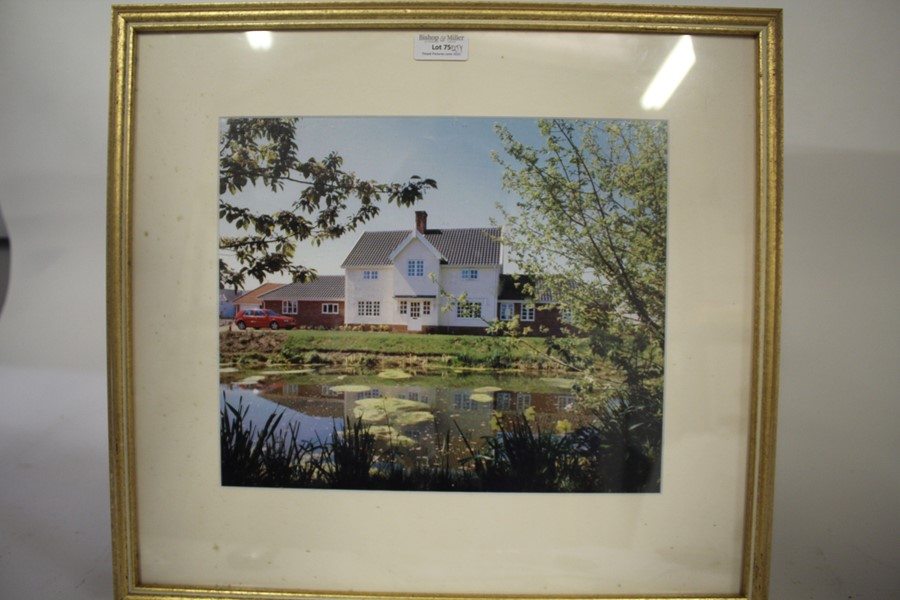 Collection of pictures, to include landscapes, impressionist style still life, Constable print,