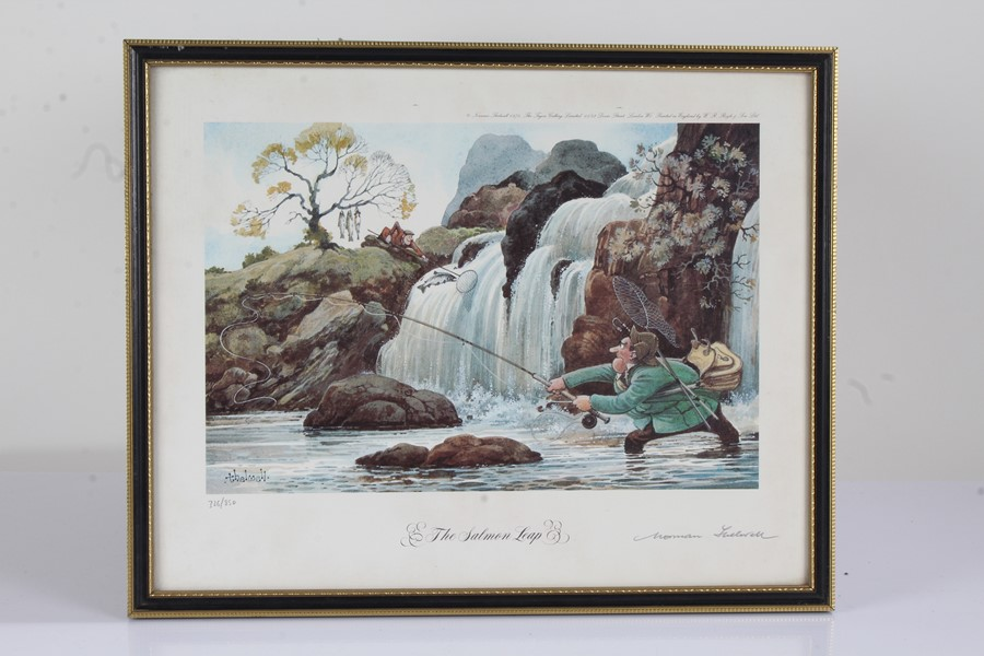 """Four Norman Thelwell signed limited edition sporting prints, """"The Rough Shoot"""" 725/850, """"The - Image 4 of 6"""