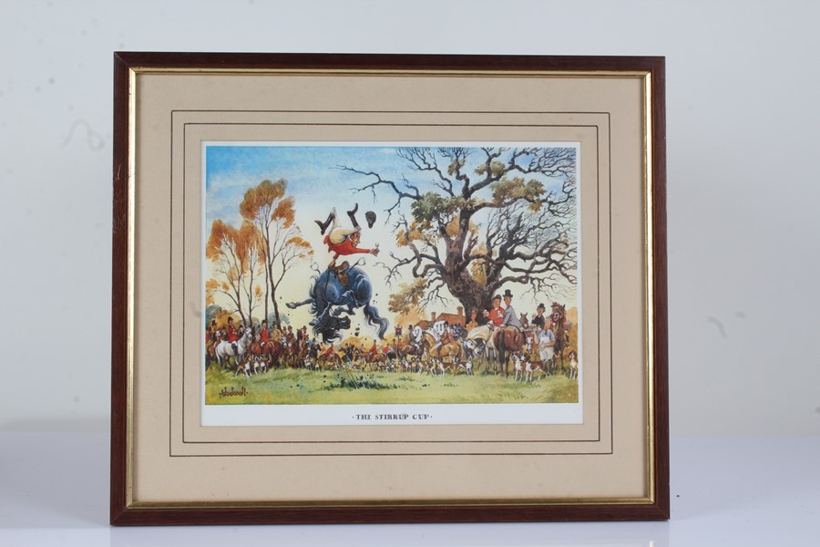 """Four Norman Thelwell signed limited edition sporting prints, """"The Rough Shoot"""" 725/850, """"The - Image 2 of 6"""