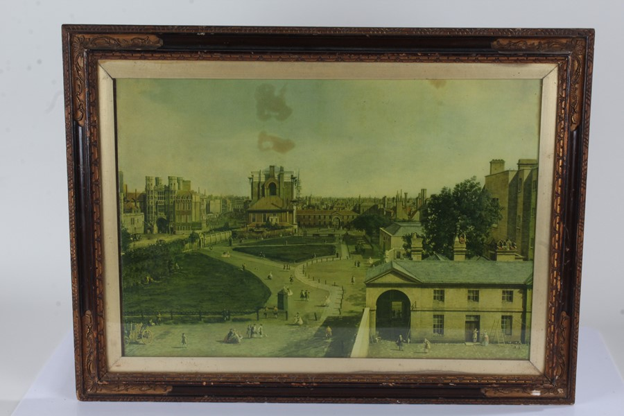 """Prints to include """"Staines Church with the City Stone on the Banks of the Thames"""", """"Abingdon - Image 5 of 5"""
