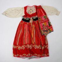 Portuguese Folk costume, Lavradeire costume, Viana do Castelo, Minho province, to include the