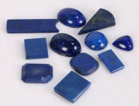 Loose lapis lazuli, 105ct (11)