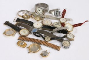 Collection of wristwatches to include quartz examples (Qty)