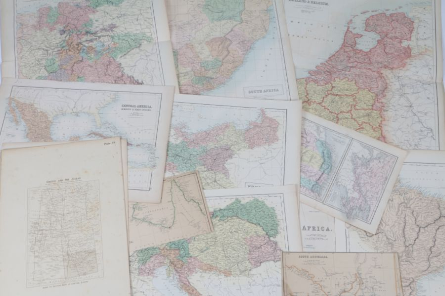 World maps to include North and South Australia, Turkey in Asia, Central America, Greece and the