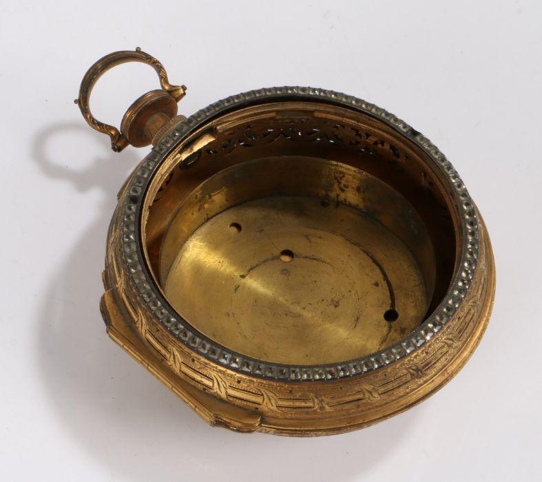 Paul Rimbault Denmark St Soho London oversized pair cased pocket watch case, the pair case with