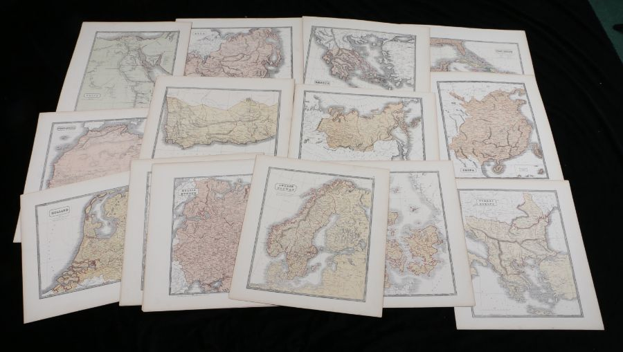 World maps to include West Indies, China, Greece, Asia, Turkey in Europe, Egypt, Cape of Good