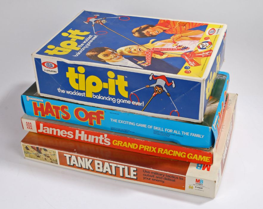 Board games, to include Tank Battle by MB Games, James Hunt's Grand Prix Racing Game, Denys - Image 2 of 2