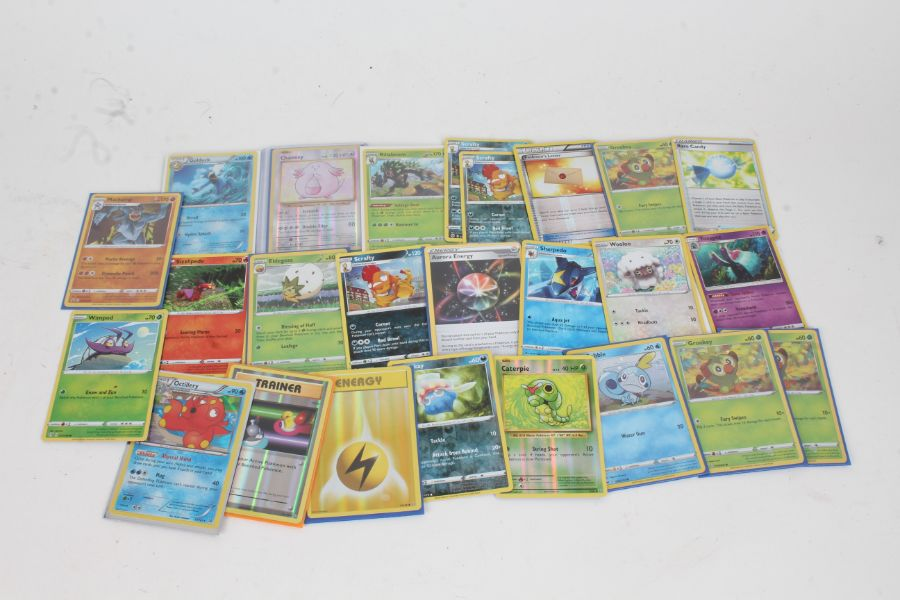 Collection of Pokemon TCG Holo cards, to include Chansey 70/108, Golduck 17/122, Rillaboom 014/202