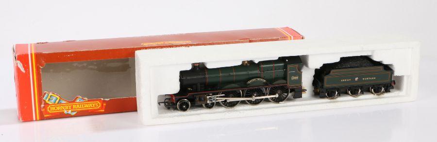 """Hornby OO gauge R.830 GWR 4-6-0 loco """"Saint David"""", boxed"""