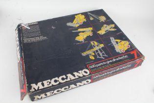 Meccano 7 Construction Set, with original box and instruction book