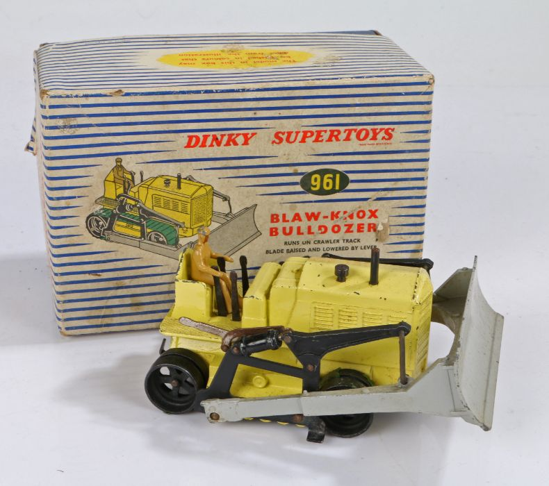 Dinky Supertoys Blaw-Knox Bulldozer, number 961, boxed
