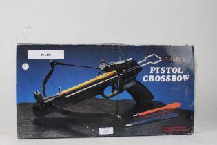 Armex Pistol Mini Crossbow, boxed