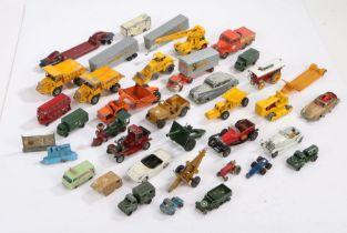 Collection of model vehicles to include Dinky, Matchbox, Lesney, Corgi James Bond Aston Martin DB5